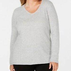 NWT Karen Scott Women's Sweater Long Sleeve
